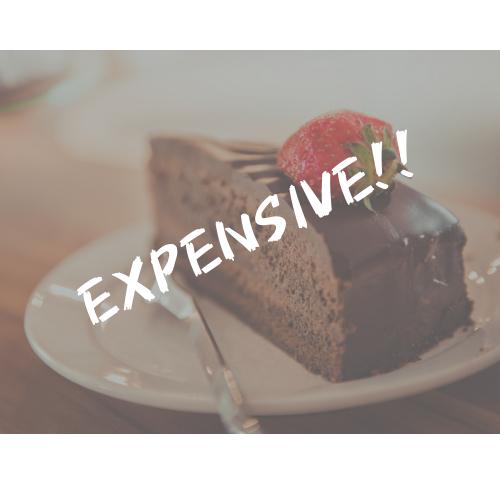 ケーキの値段が高い理由